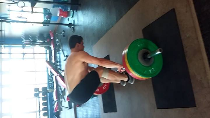 Clean and Jerk Barbell Complex